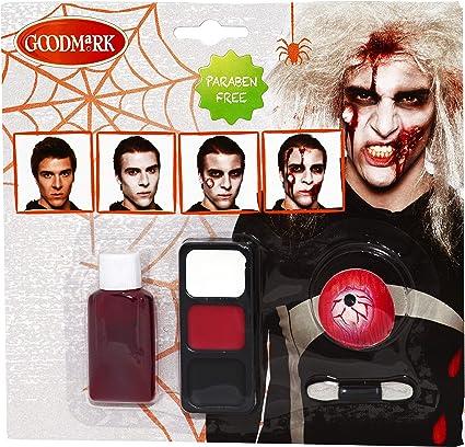 good Mark Makeup Set Zombie, 3 Pack (3 x 8 unidades): Amazon.es: Belleza