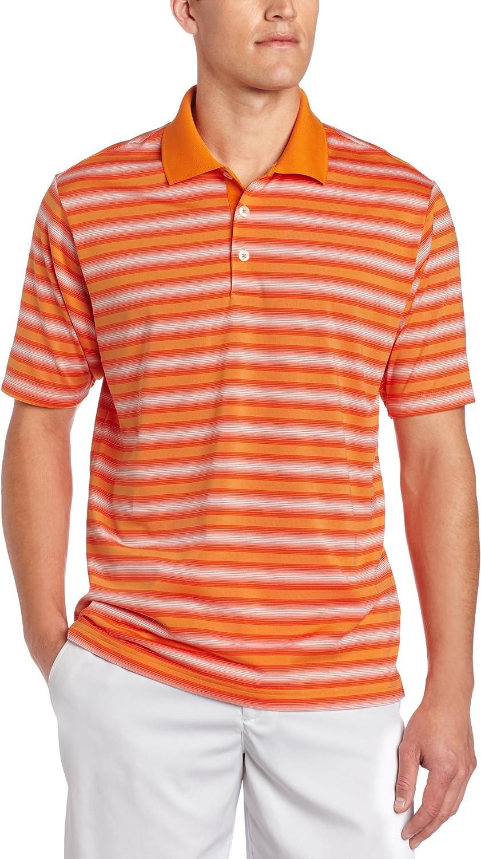 adidas Golf men's Climacool Soft Stripe Polo