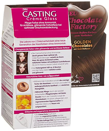 Amazon.com: LOréal Casting Crème Gloss 403 Chocolate Chip 160 ml: Beauty