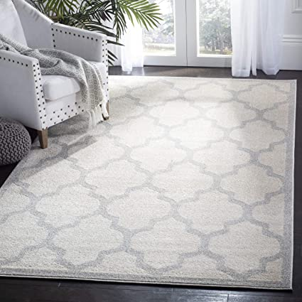 Amazon Com Safavieh Amherst Collection Amt420e Beige And Light Grey