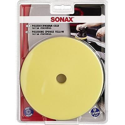 "Sonax 493500 Dual Action Finishing Pad, 6.5"", Yellow: Automotive"
