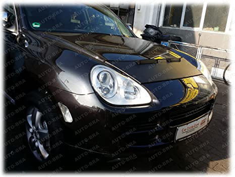 Amazon.com: HOOD BRA Front End Nose Mask for Porsche Cayenne 2002-2010 Bonnet Bra STONEGUARD PROTECTOR TUNING: Automotive