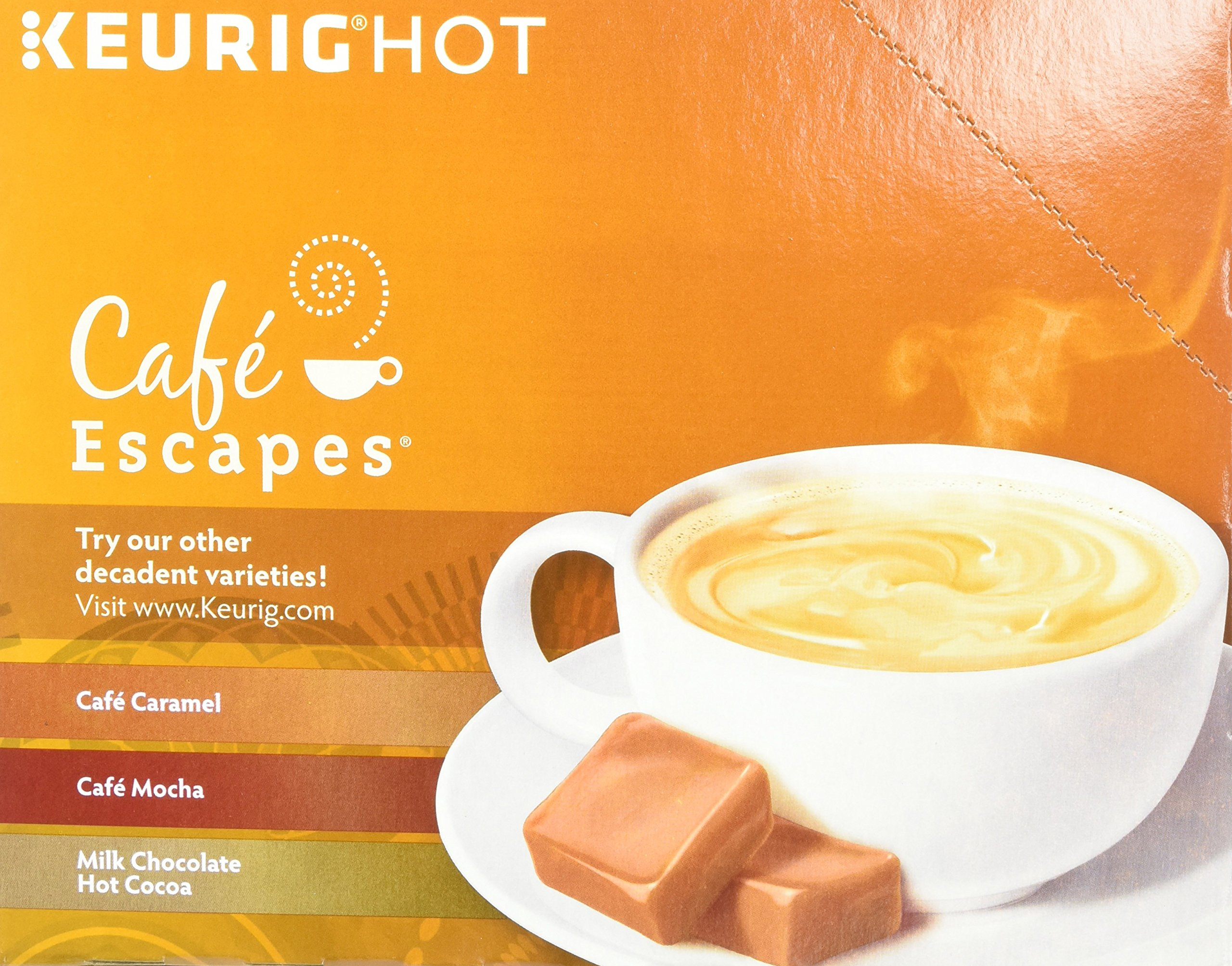 Cafe Escapes Chai Latte K-Cups, 11.7 oz, 96 Count by Café Escapes (Image #5)