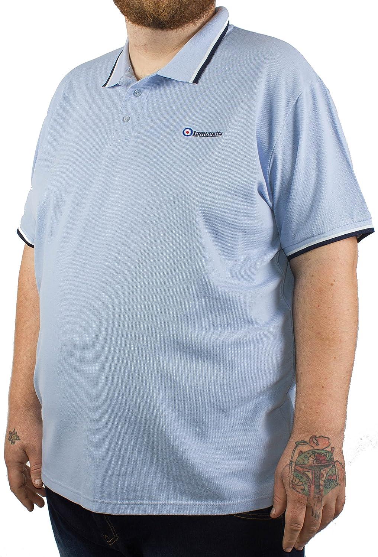Lambretta - Polo - para Hombre Azul Azul Celeste XXXX-Large ...