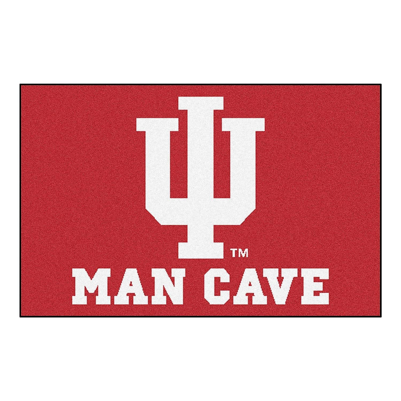 FANMATS 14552 Indiana University Nylon Universal Man Cave Starter Rug