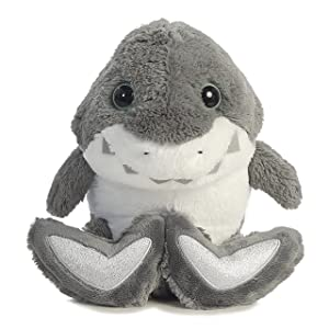 Aurora World Taddle Toes Molars Shark Plush