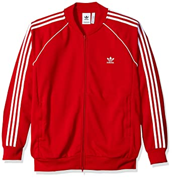 low priced 1d4d0 16518 adidas Originals Men s Superstar Tracktop, Collegiate red S