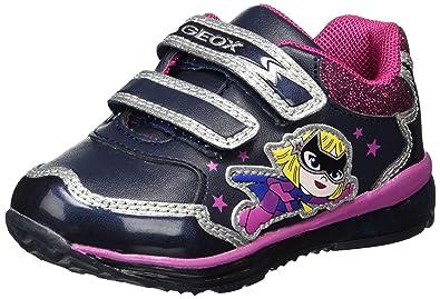 Geox Baby Mädchen B Todo Girl A Sneaker, Blau (Navy), 20 EU
