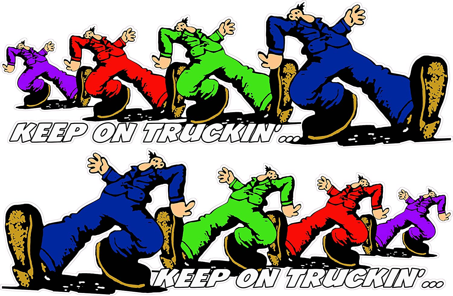 Amazon com: Keep on Truckin' Right & Left XX Large 48