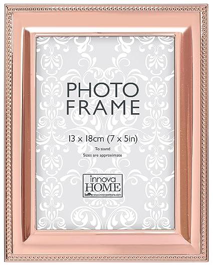 Innova pm07932 marco de fotos 10 x 15 cm Color Metal perlado oro ...
