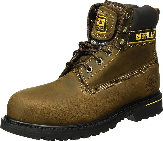 Cat Footwear Holton S3 HRO SRC, Botas de Trabajo Hombre