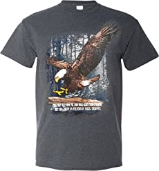 They Shall Mount Up with Wings as Eagles - Isaiah 40:31 - Tshirt