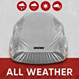 Motor Trend SafeKeeper All Weather Car Cover - Advanced Protection Formula - Waterproof 6-Layer for Outdoor Use, for…