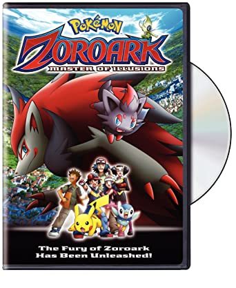 Amazon Com Pokemon Zoroark Master Of Illusions Dvd Various Various Movies Tv