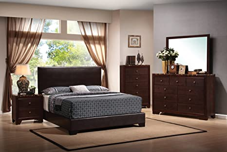 Amazon.com: Coaster Home Furnishings Bedroom Furniture Set ...