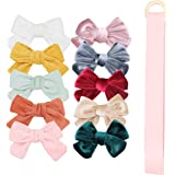 Baby Girl Hair Bow Clips Flowers Barrettes, Assorted Hair Accessories Alligator Clip for Little Girls Toddler Kids Teens