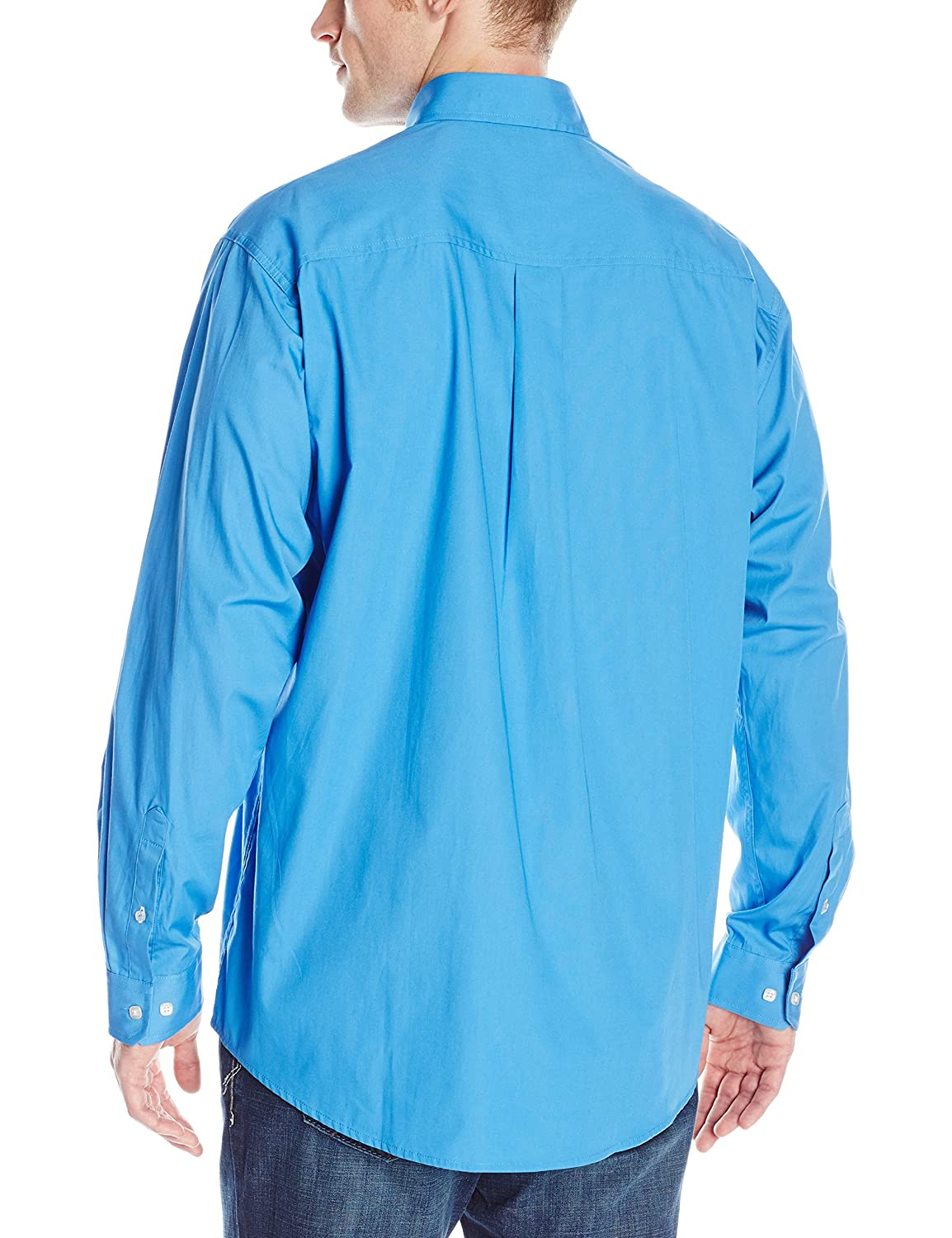 Cinch Mens Classic Fit Long Sleeve Button One Open Pocket Solid Basic