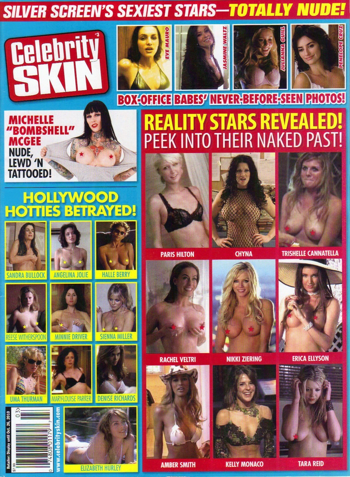 Celebrity Skin Vol 3 (Silver Screen's Sexiest Stars - Totally Nude, 32)  Single Issue Magazine – 2010
