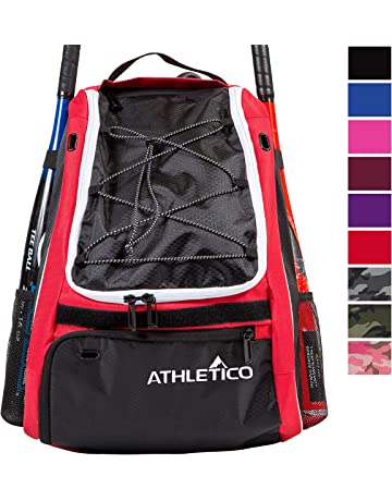 827c379834874 Athletico Baseball Bat Bag - Backpack for Baseball, T-Ball & Softball  Equipment &