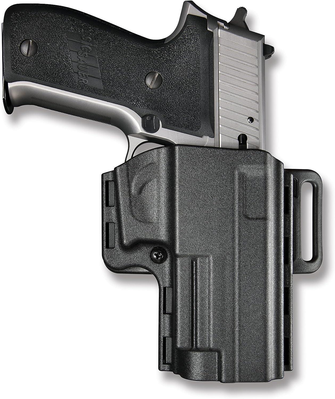 braun Leder Pancake Pistolenholster für mittlere Pistolen Gürtelholster