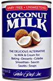Andre Prost Unsweetened Coconut Milk, 13.5 Ounce Cans (Pack of 12)