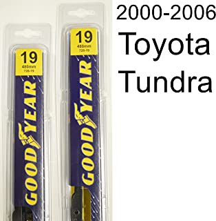 """product image for Toyota Tundra (2000-2006) Wiper Blade Kit - Set Includes 19"""" (Driver Side), 19"""" (Passenger Side) (2 Blades Total)"""