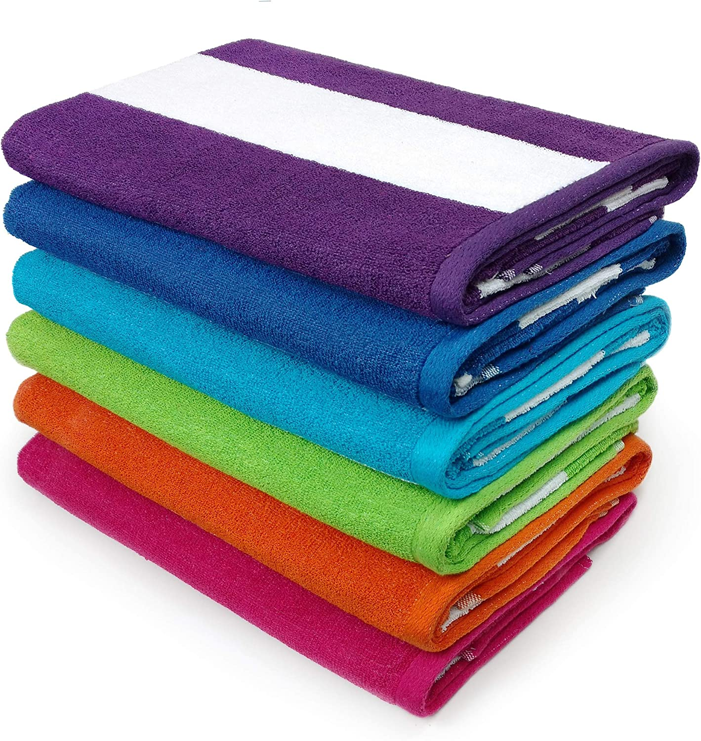 Kaufman - Cabana Terry Loop Towel 6-Pack