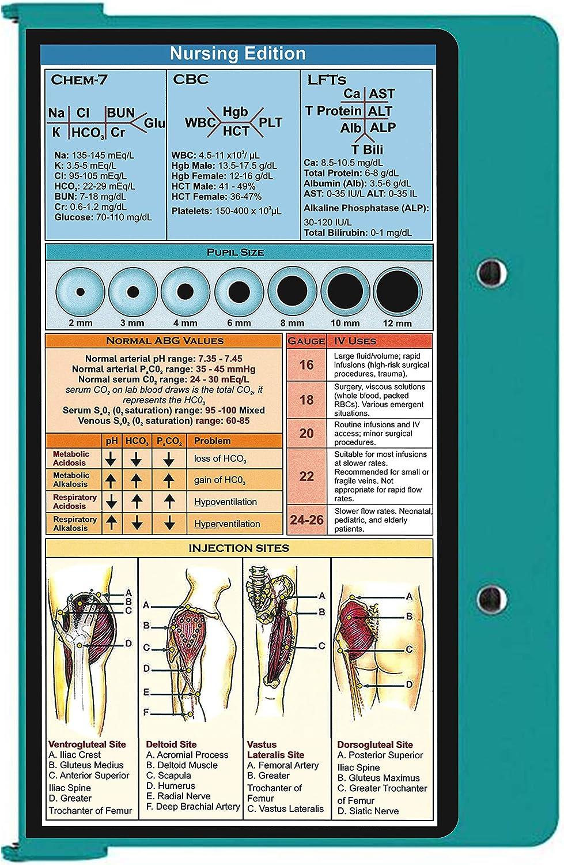 Doctors Teal Nursing Clipboard Medical Students/… Aluminum Clipboard Nursing Edition Folding Clipboard for Nurses Teal