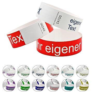 linie zwo/® 500 St/ück Secureb/änder DIGITALprint Online-Editor Farbig