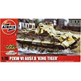 Airfix A03310 King Tiger 1:76 Scale Series 3 Plastic Model Kit