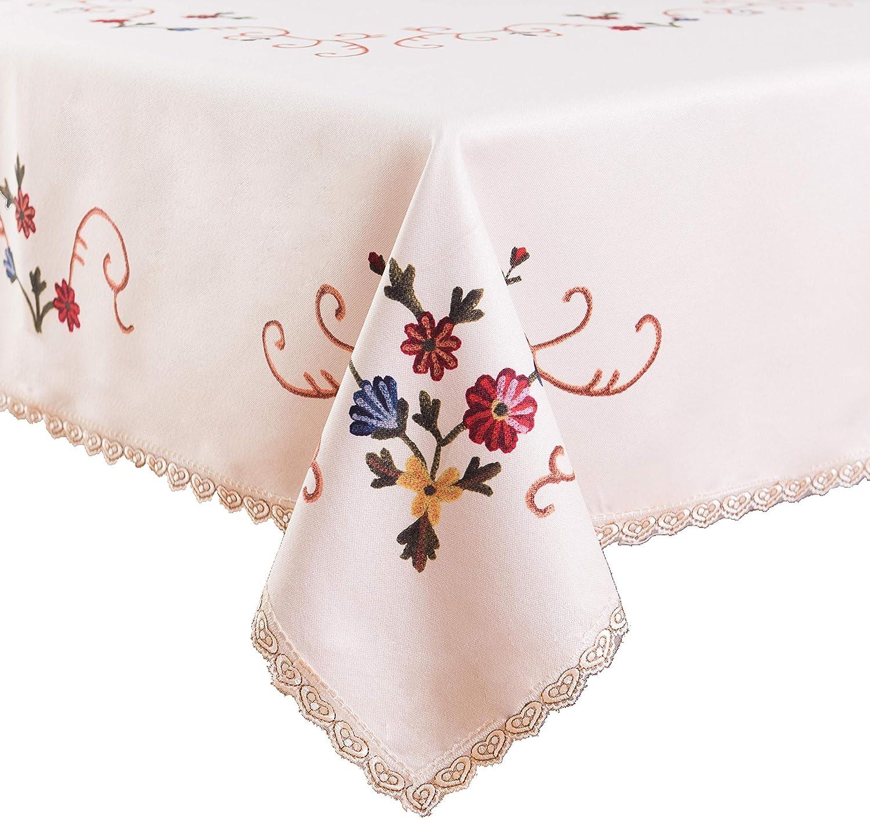 Amazon Com Flyspeed Floral Print Heavy Weight Rectangle Cotton