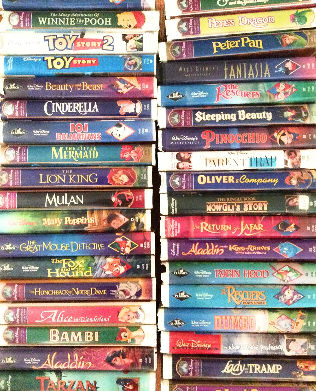 Amazon Com 33 Walt Disney S Masterpiece Collection Vhs Movies Tv
