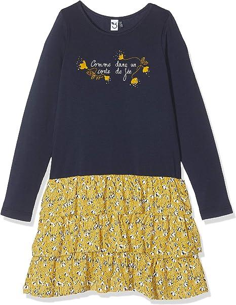3 pommes Baby-M/ädchen Kleid