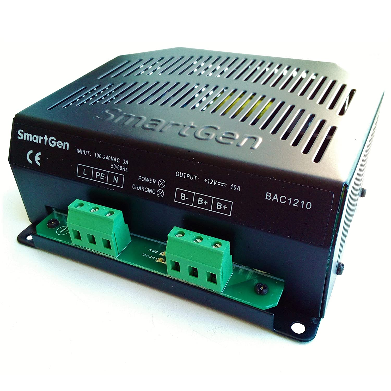 Amazon.com: SMARTGEN BAC1210-12V Generator Battery Charger ...