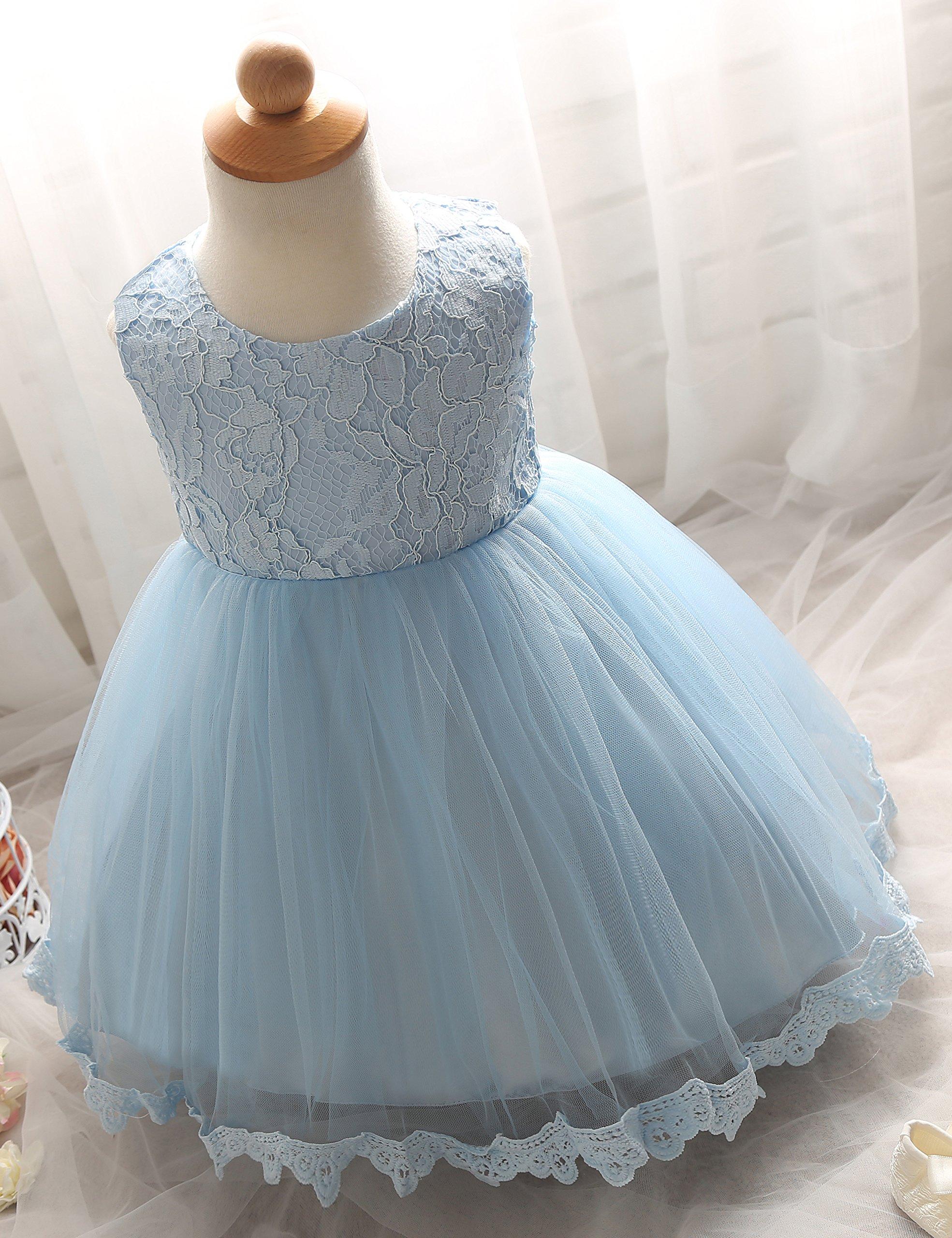NNJXD Girls\' Tulle Flower Princess Wedding Dress for Toddler and ...