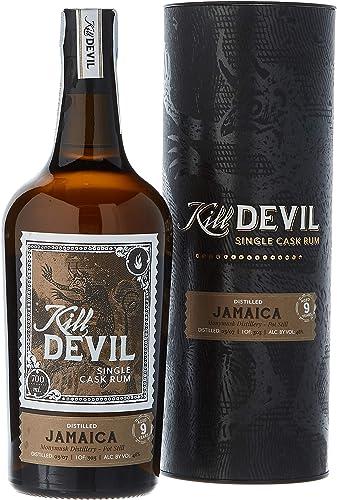 Kill Devil 9 Años de Edad Jamaica Solo Barril Ron en Caja de Regalo - 700 ml