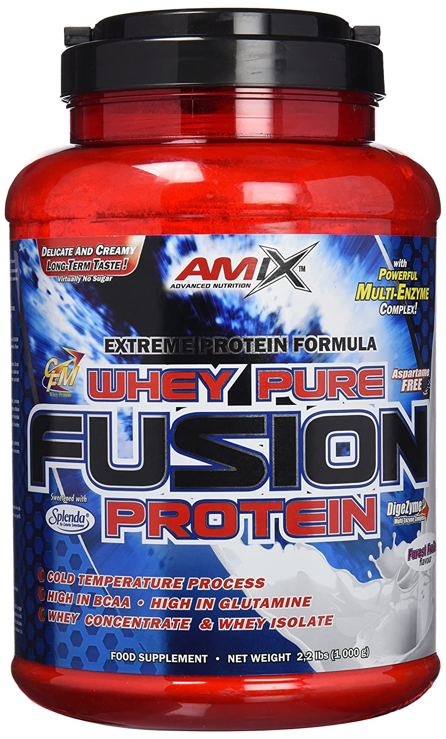 Amix Whey Pure Fusion Proteínas - 1000 gr_8594159533035