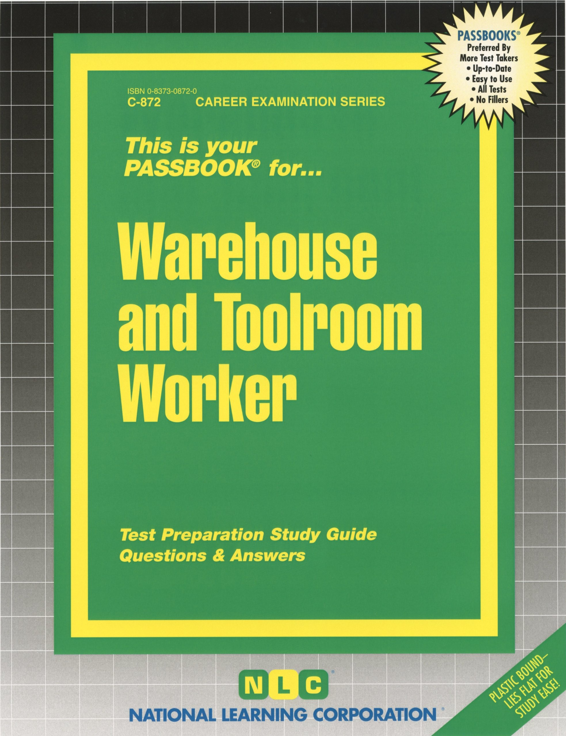 Warehouse and Toolroom Worker (Passbooks): Passbooks: 9780829308723:  Amazon.com: Books
