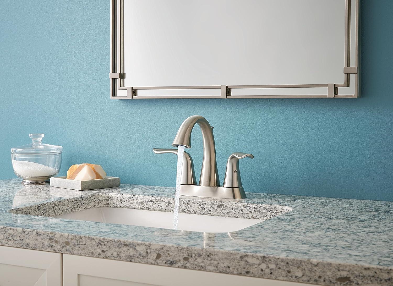 Delta 2538-SSMPU-DST Lahara 2-Handle Centerset Bathroom Faucet with ...