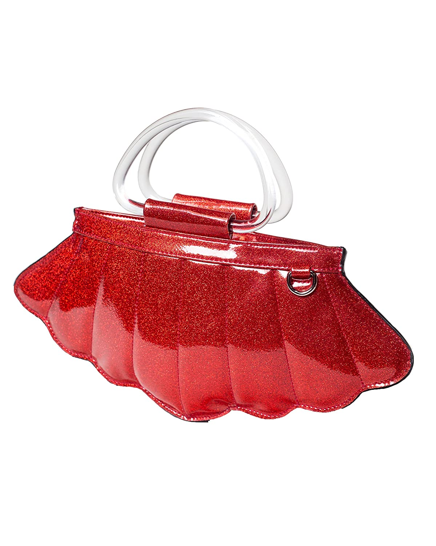 Lux De Ville ACCESSORY レディース B07DN1W126 Red Sparkle