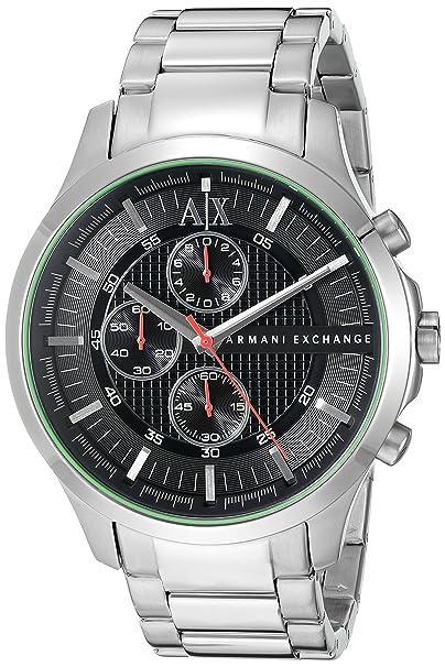 eed0a1ab9f4e Armani Exchange De los hombres Analógico Dress Cuarzo Reloj AX2163  Armani  Exchange  Amazon.es  Relojes