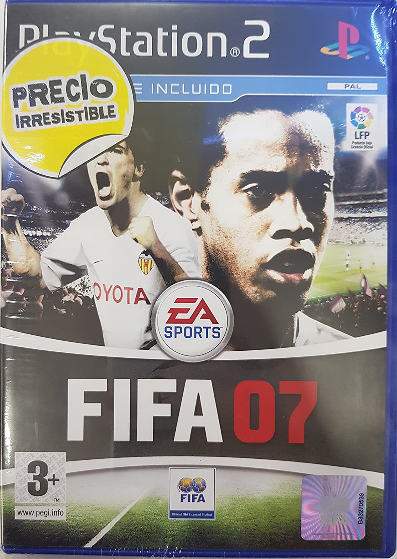Playstation 2 FIFA 07 -PS2- PAL-VERSION ESPAÑOLA: Amazon.es: Videojuegos