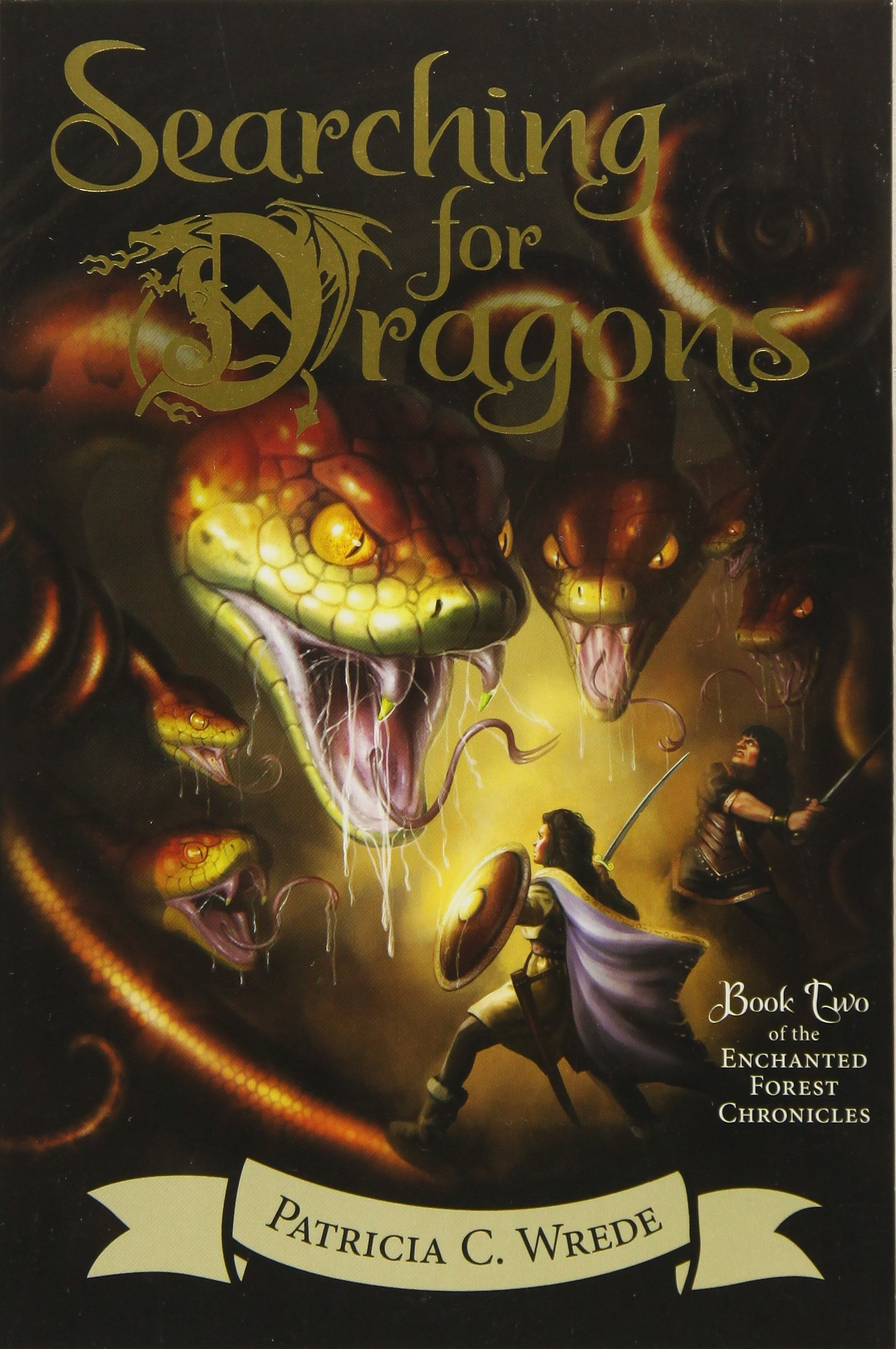 Searching for Dragons: The Enchanted Forest Chronicles, Book Two: Patricia  C. Wrede: 9780544541467: Amazon.com: Books