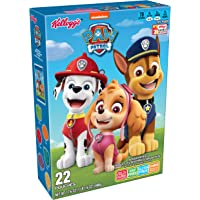 PAW Patrol, Assorted Fruit Flavored Snacks, Original, Excellent Source of Vitamin C, 17.6oz Box (22 Count)