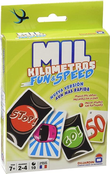 Asmodee Mil Kilómetros Fun & Speed - Juego de mesa (MIL01ES ...