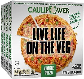 f358fc3445c CAULIPOWER Veggie Cauliflower Crust Pizzas, Gluten Free, Non-GMO ...