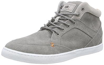 Hub Men's Panama C06 High Sneakers, Grey Size: 11 UK: Amazon