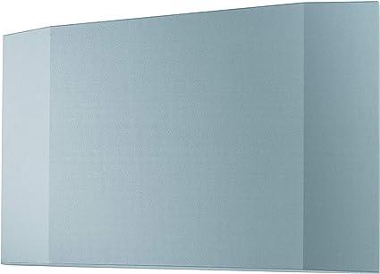 SIGEL SB222 Panel mampara acústica, 120 x 81 x 6.5 cm, con carril de fijación, azul claro, 1 unidad - Sound Balance: Amazon.es: Oficina y papelería