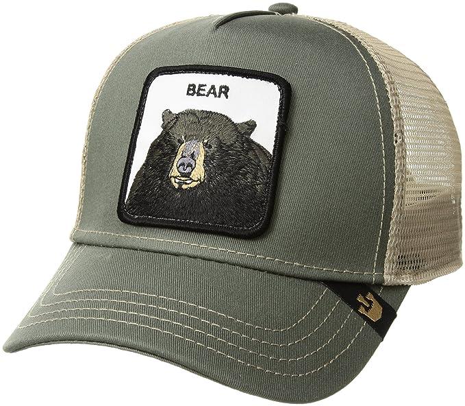 4d83b6557 Goorin Borthers Men's Drew Bear Animal Farm Trucker Cap Baseball ...