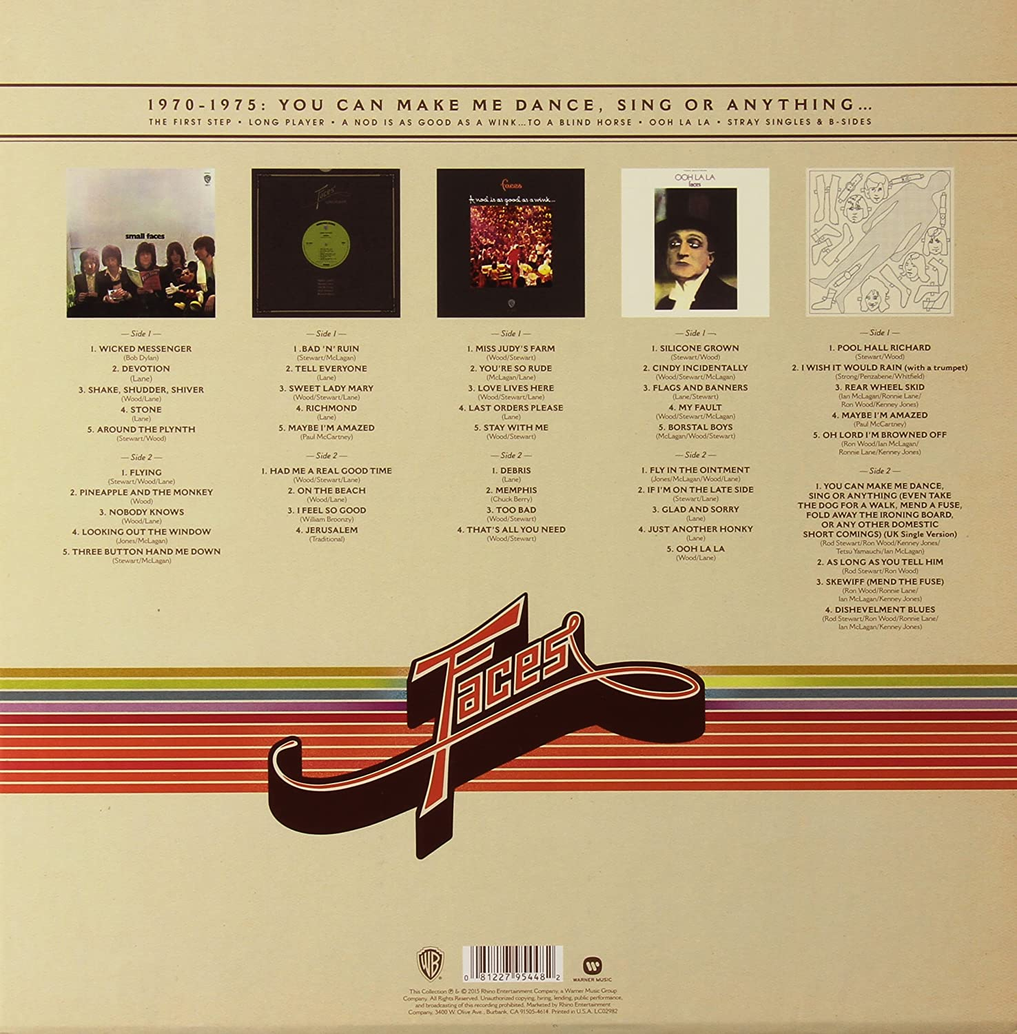 1970-1975: You Can Make Me Dance, Sing Or Anything... [Vinilo]
